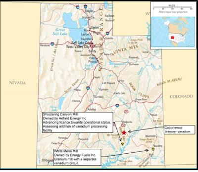 Nortec Minerals announces Exploration Program on the Cottonwood Uranium-Vanadium Project, Southeast Utah