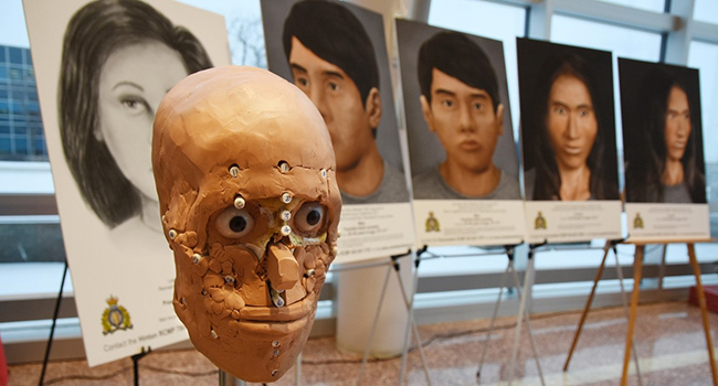 Forensic anthropologist helps police identify unknown victims