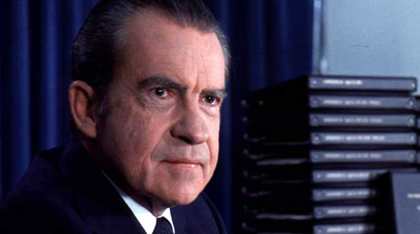 Richard Nixon's shocking summer and its big payoff