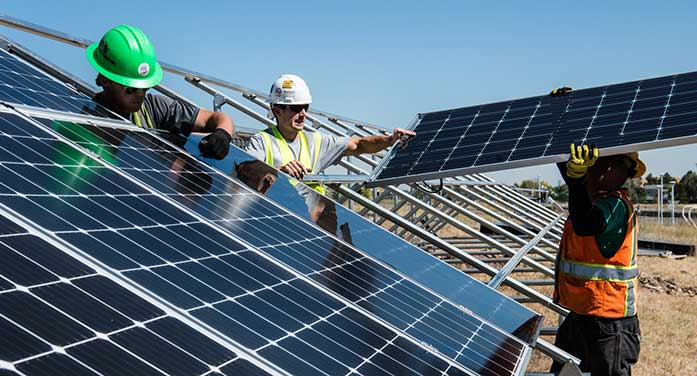 New program fast tracks students for jobs in renewable energy sector